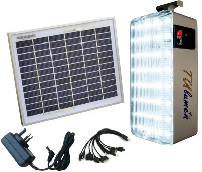 TechnologyUncorked Solar Mobile Charger With LED Emergency Lights