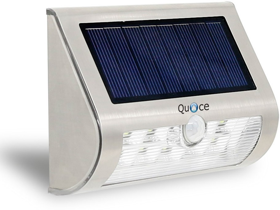 View Quace Upgraded Staircase Pathway with Motion Sensor Solar Lights(Silver) Home Appliances Price Online(Quace)
