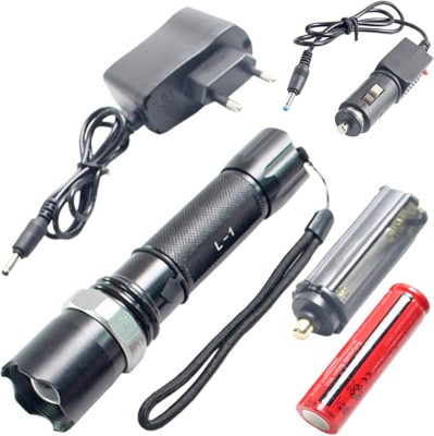 SJ 3 Mode Cree Rechargeable LED Torch - 61 Torches
