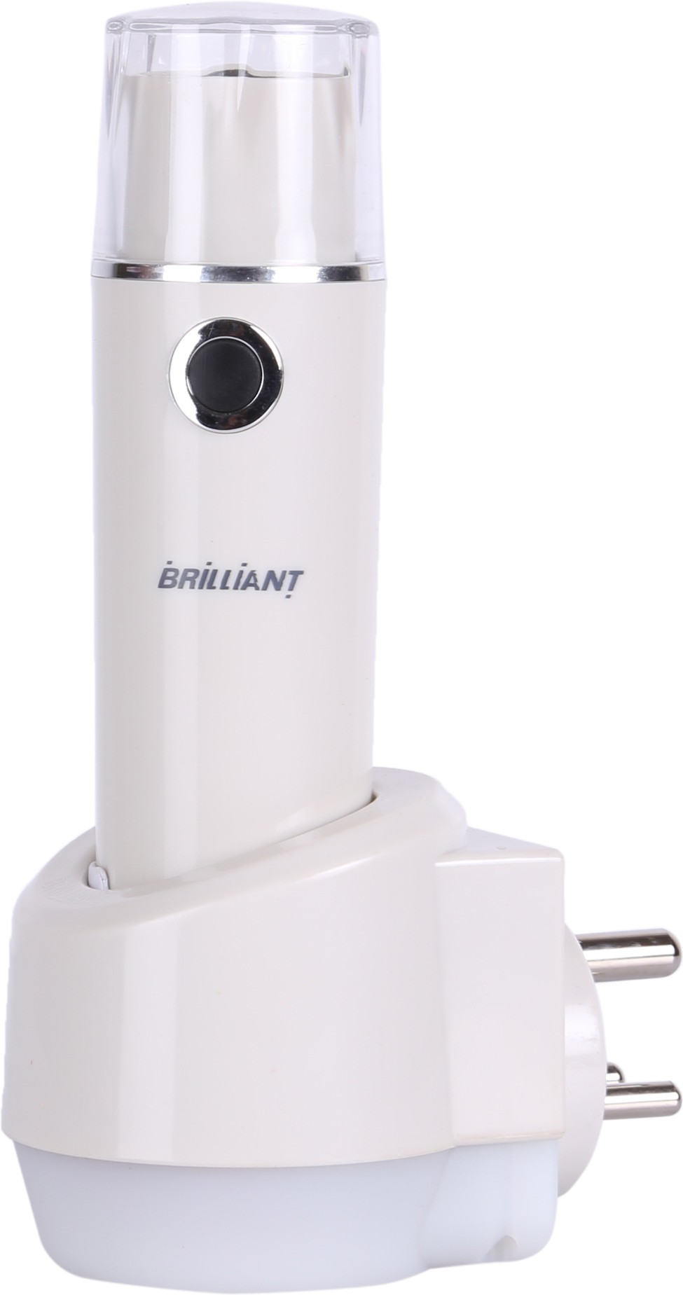 View Brilliant LED TORCH Emergency Lights(White) Home Appliances Price Online(Brilliant)
