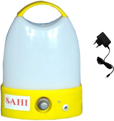 Sahi Rechargeable pari777 (yellow) with charger Emergency Lights