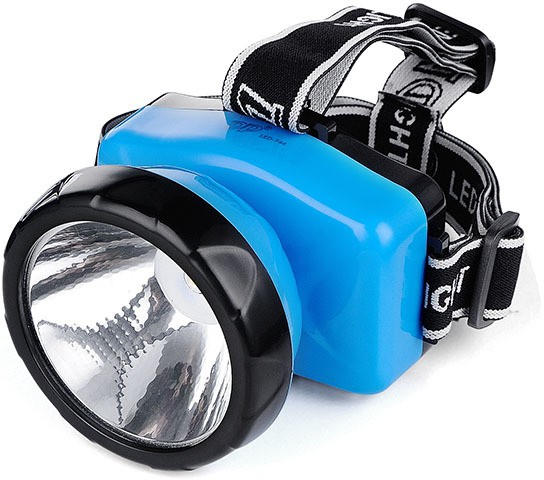 View eSnap LED Head Mount Rechargeable Emergency Lights(Blue) Home Appliances Price Online(eSnap)