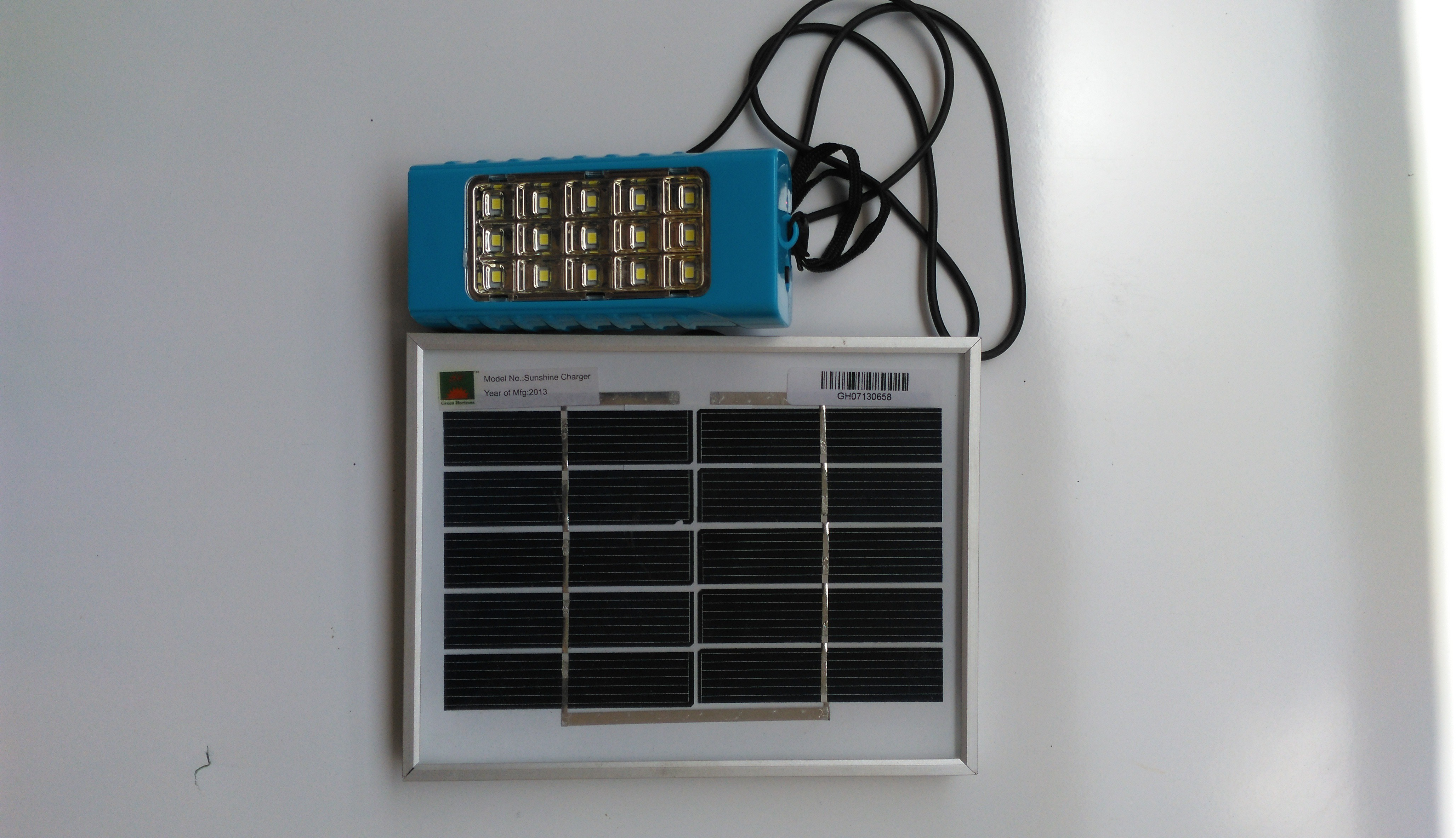 View Ecotech Small Led Lantern Solar Lights(Blue) Home Appliances Price Online(Ecotech)