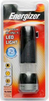 Energizer 2 in 1 Flash Light Lantern Torches(Black)