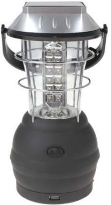 cubee Solar-36-LED Lantern Emergency Light Lightning Multi-Purpose Solar Lights(Black)