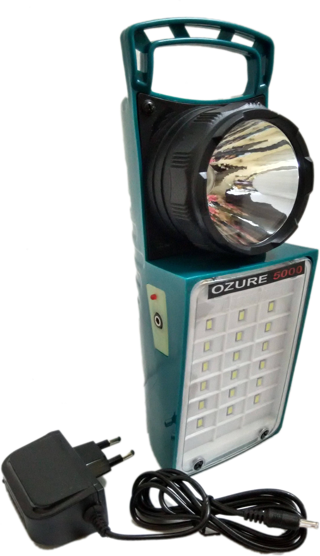 View Ozure Double Bull Emergency Lights(Green) Home Appliances Price Online(Ozure)