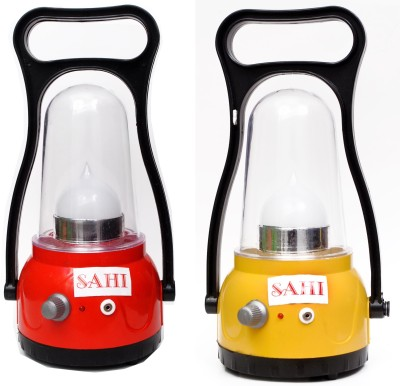 Sahi Rechargeable Moon Lantern with charger - Set of 2 Emergency Lights