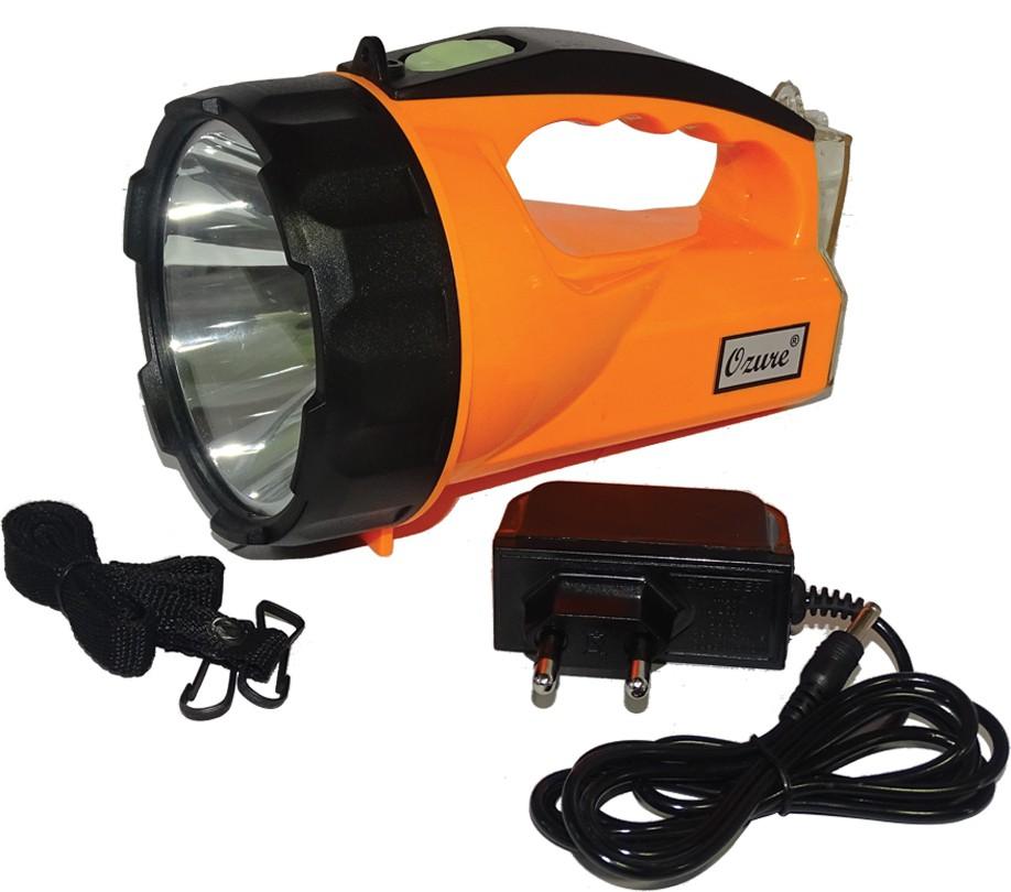 View Ozure Mr. Kishan Emergency Lights(Black, Orange) Home Appliances Price Online(Ozure)
