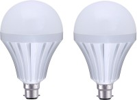Homes Decor 7W Led Intelligent Bulb With Power Back-up Emergency Lights(White)