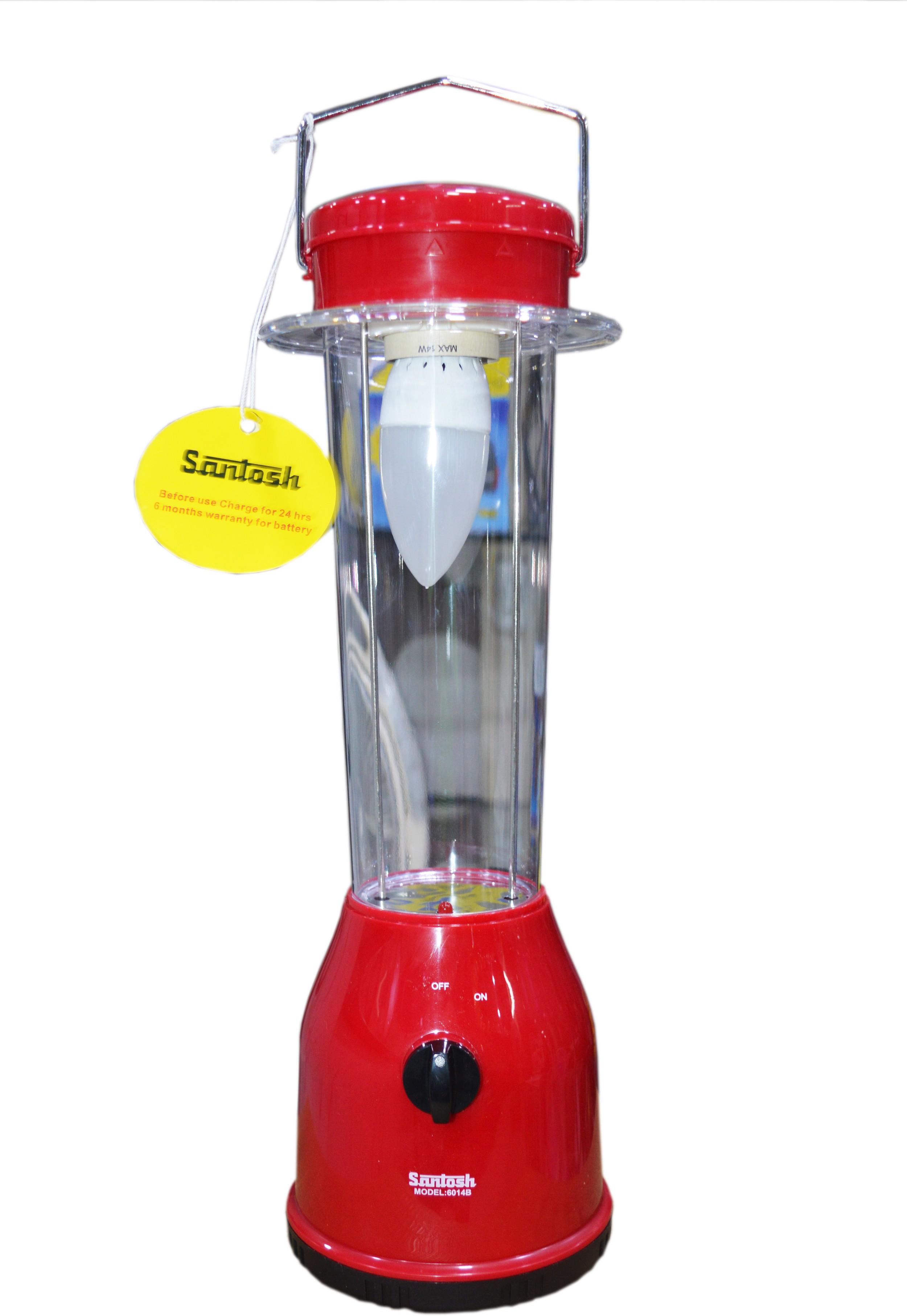 View Santosh 6014B Emergency Lights(Red) Home Appliances Price Online(Santosh)