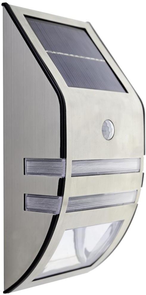 View GLiT Solar Motion Sensor Light Solar Lights(Steel Gray) Home Appliances Price Online(GLiT)