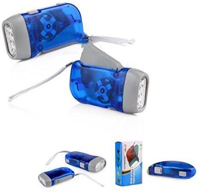 Big Impex hand pressing flash light Emergency Lights(multicolour)