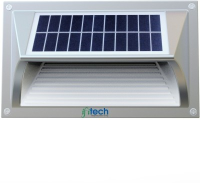 IFITech New Design Solar Wall Light Solar Lights(Grey, White)