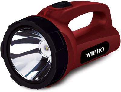 WIPRO Torch(Red : Rechargeable)