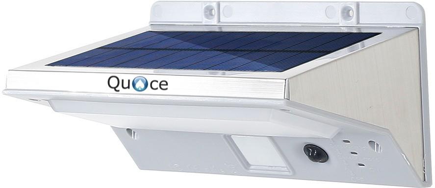 View Quace 21 LED 3 Modes Solar Lights(Silver) Home Appliances Price Online(Quace)