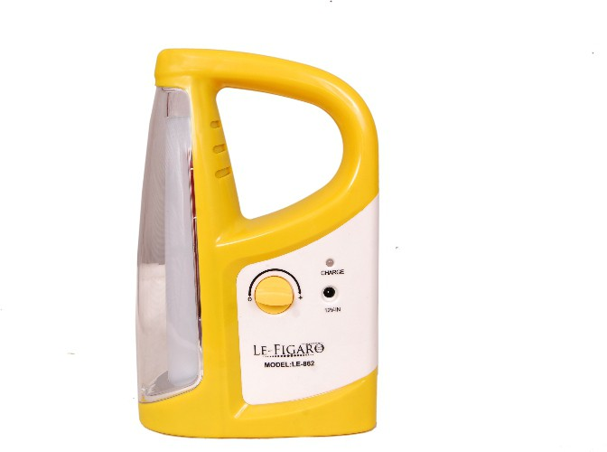 View Le Figaro LE-862YELLOW Emergency Lights(Yellow) Home Appliances Price Online(Le Figaro)
