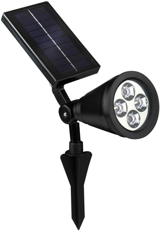 View Quace Bright Outdoor Led Spotlight / Powered Outdoor Light For Landscape, Garden, Driveway, Pathway, Yard, Lawn Solar Lights(Black) Home Appliances Price Online(Quace)