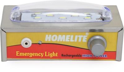 HomeLite Rechargable 8W Solid LED Emergency Light Emergency Lights
