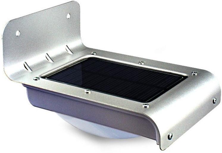 View Quace 16 Led Motion Sensor Solar Lights(Silver) Home Appliances Price Online(Quace)