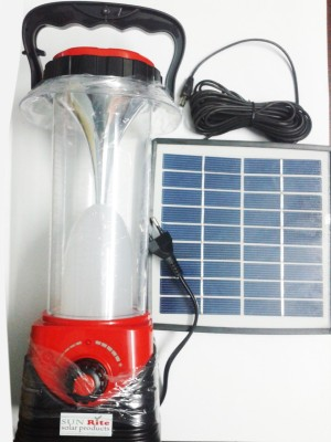 Sun Rite Solar DP-70848 Solar Lights(Red, Black)
