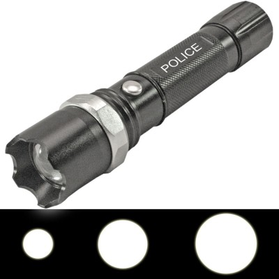 SJ Police 3 Mode Rechargeable LED Waterproof Flashlight Torches