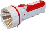 CSM Rechargeable 1W LED Torches (Red, Bl...