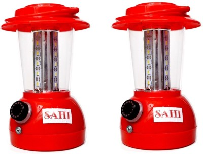Sahi Rechargeable 24 Lantern  with charger- Set of 2 Emergency Lights
