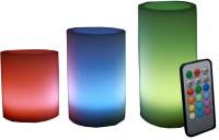 Aero Wax LED Candle Emergency Lights(Multicolor)