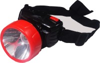 Tuscan High Beam Ajustable Head Torches(Black, Red)