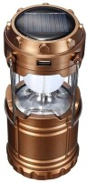 DOCOSS Bronze Camping rechargeable Portable led solar lamp Emergency Lights(Copper)