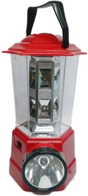 Kotak Sales LED Red Rechargeable Lantern Torch Compass Emergency light bright Outdoor Camping Emergency Lights
