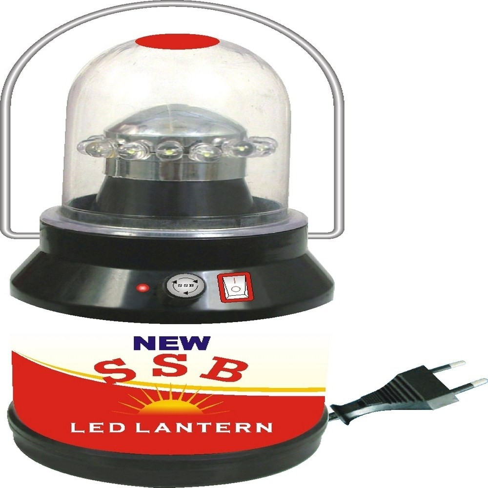 View Airnet SSB 10 2-in-1 Lantern Emergency Lights(Black, White) Home Appliances Price Online(Airnet)