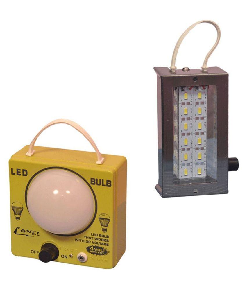 View mobizon Mobizone irgin Plastic Rechargeble LED Bulb and SMD Strip Light Emergency Lights(Black) Home Appliances Price Online(Mobizon)