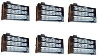 Grind Sapphire set of 6 -LED 12wt Emergency Lights(White)