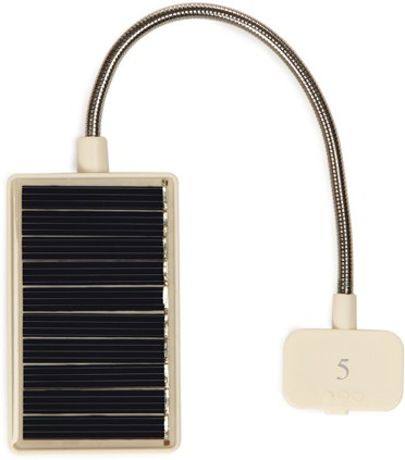 View Blau Funf Portable Reading Lamp with LED, Clip and Ultra Flexible Neck Solar Lights(White) Home Appliances Price Online(Blau Funf)