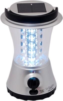Le Figaro Solar Rechargeable Lantern Solar Lights(Silver)