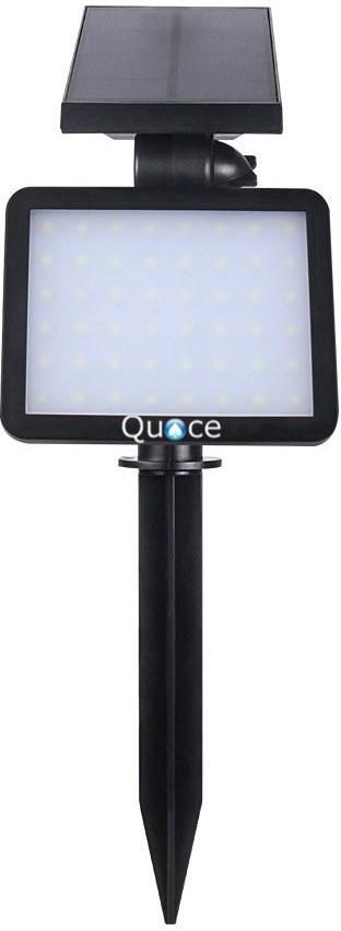 View Quace 48 LED 960 Lumen Spot Solar Lights(Black) Home Appliances Price Online(Quace)