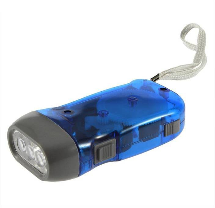View Gomani Hand pressing rechargeable led torch Emergency Lights(Multicolor) Home Appliances Price Online(GOMANI)