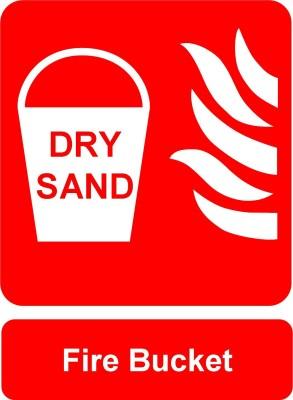 Safe Pro Fire Bucket Emergency Sign