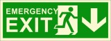 BRANDSHELL Emergency Exit Down Wards Eme...