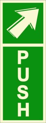 BRANDSHELL Push Emergency Sign