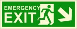 BRANDSHELL Emergency Exit Down Right Sid...