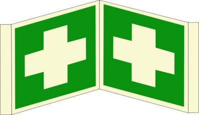 BRANDSHELL First Aid Emergency Sign
