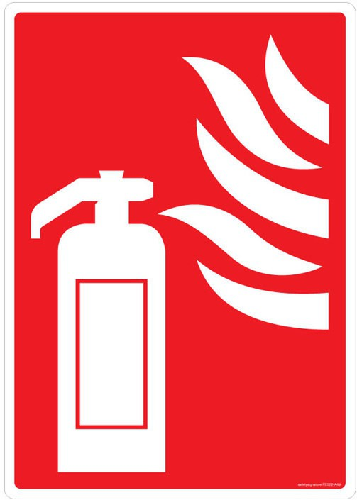 Safety Sign Store Fire Extinguisher - Graphic Emergency Sign best price on Flipkart @ Rs. 320
