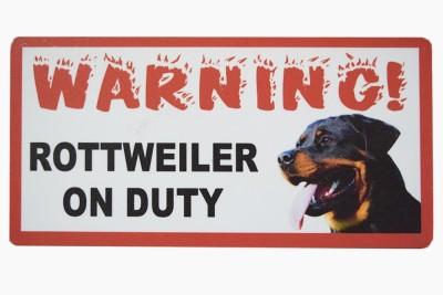 Pawzone NA Emergency Sign