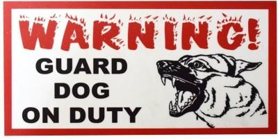 Pawzone Emergency Exit Emergency Sign