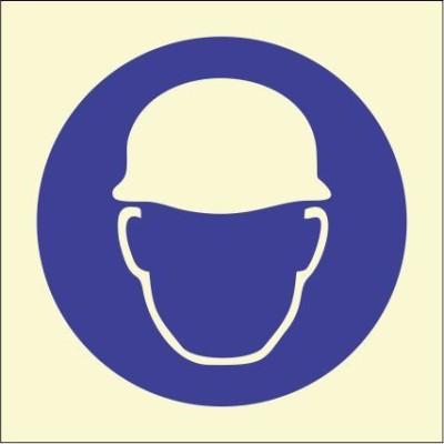 BRANDSHELL Wear Helmet Emergency Sign