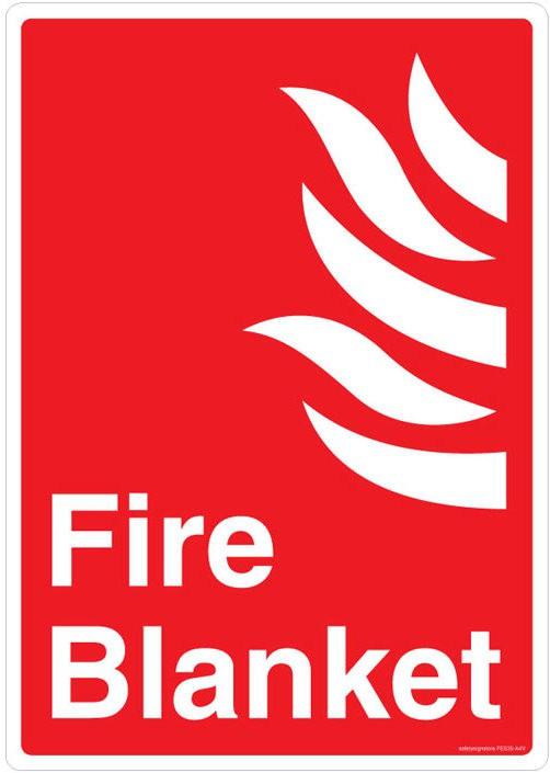 Safety Sign Store Fire Blanket Emergency Sign best price on Flipkart @ Rs. 275