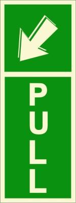 BRANDSHELL Pull Emergency Sign