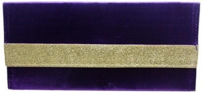 WeddingPitara Fancy Shagun Shimmer Purple Envelopes(Pack of 3 Purple)